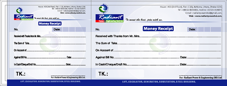 Doc800379 Money Receipt Design money receipt design 84 More – Money Receipt